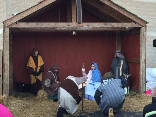 Live Nativity in Watertown, WI