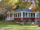 Exterior of Bartel's Beach Cottage, Lake Mills, WI
