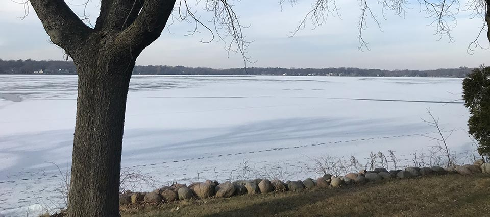 Ice Fishing on Lake Ripley