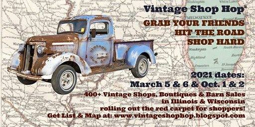 Hop on Over to the Vintage Shop Hop!